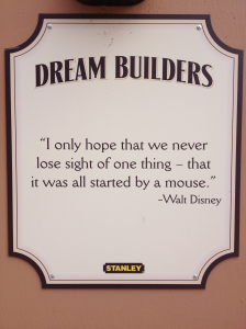 disney walt dream