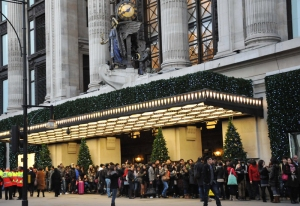 New West End - Boxing Day Sales on Oxford Street - December 26, 2011